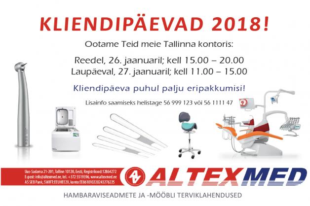 KLIENDIPÄEVAD 2018!