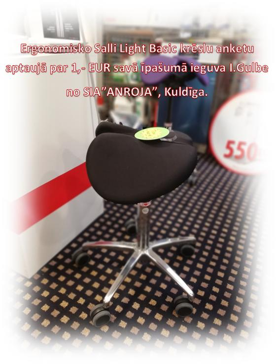 Salli Light Basic krēsls