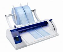 Sterilizacijos juostų užlydymo prietaisai
