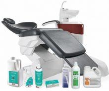 Zobārstniecības iekārtu / uzgaļu / virsmu apkopes līdzekļi